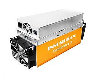 دستگاه ترمیناتور3 برای استخراج بیت کوین